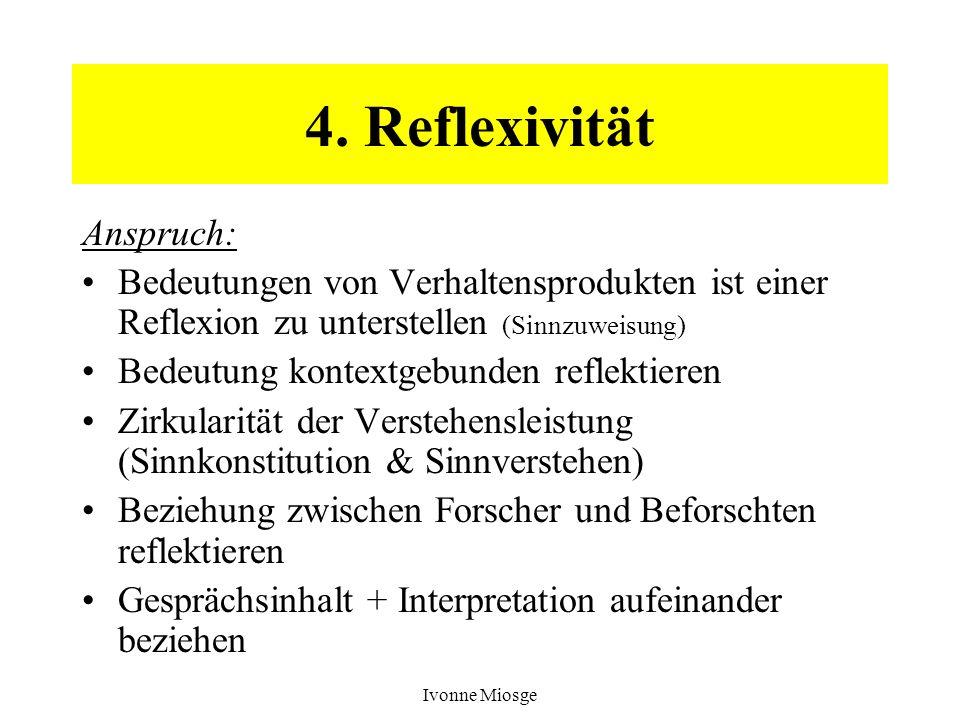 4. Reflexivität Anspruch: