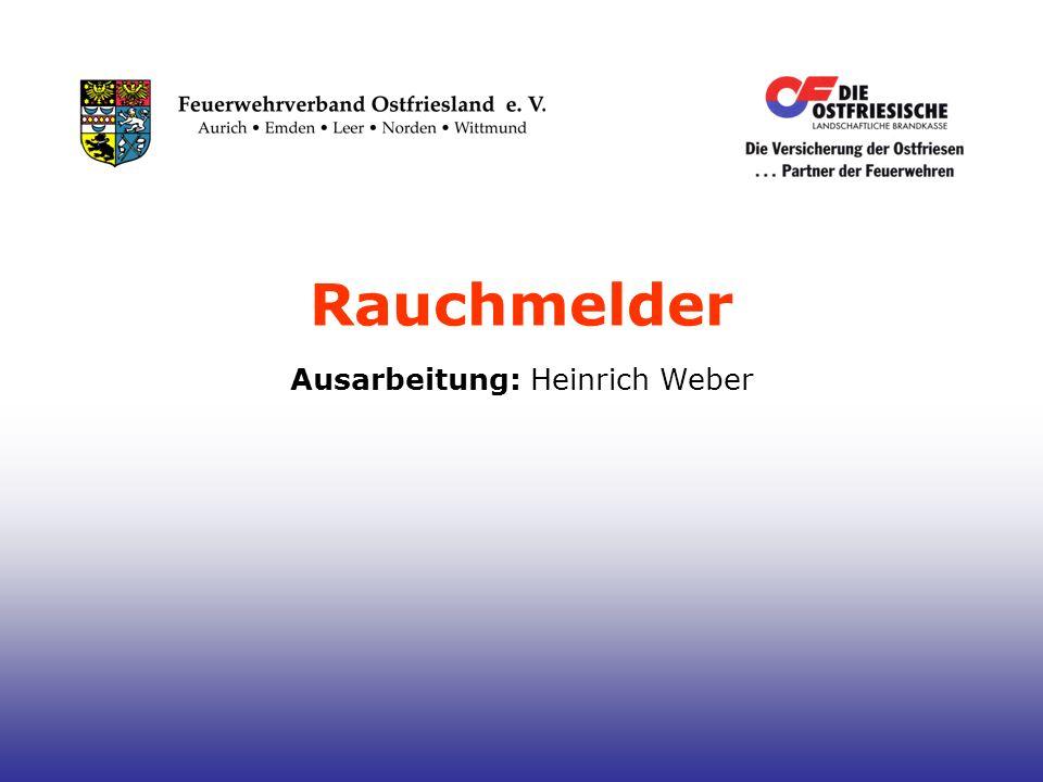 Ausarbeitung: Heinrich Weber