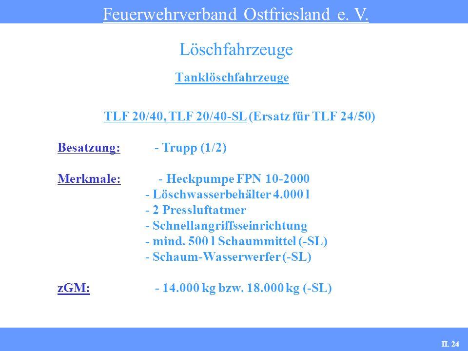 TLF 20/40, TLF 20/40-SL (Ersatz für TLF 24/50)
