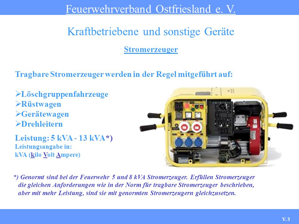 Kraftbetriebene und sonstige Geräte