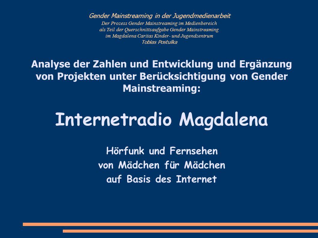 Internetradio Magdalena von Mädchen für Mädchen