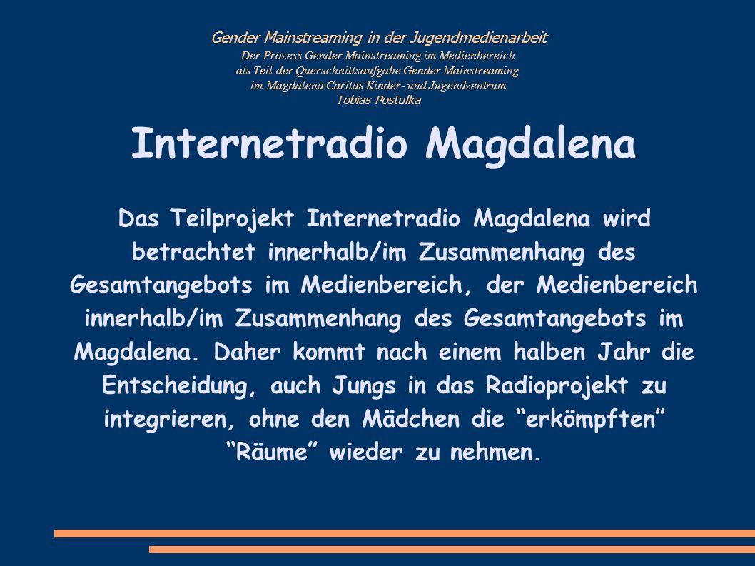 Internetradio Magdalena