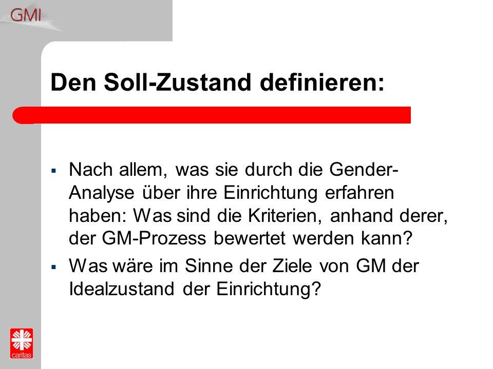 Den Soll-Zustand definieren: