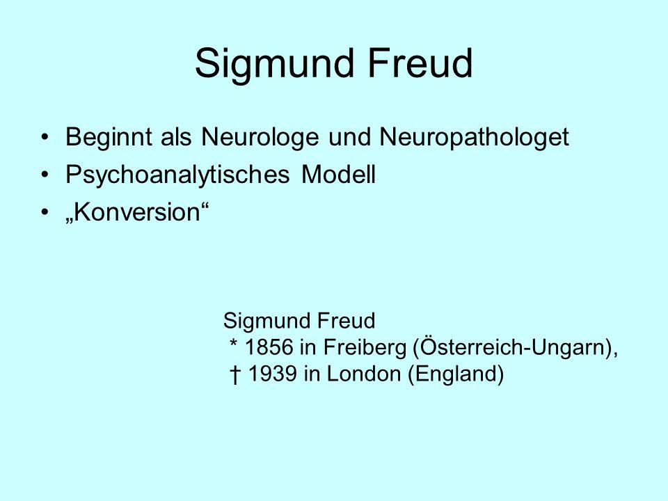 Sigmund Freud Beginnt als Neurologe und Neuropathologet