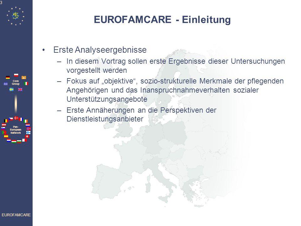 EUROFAMCARE - Einleitung