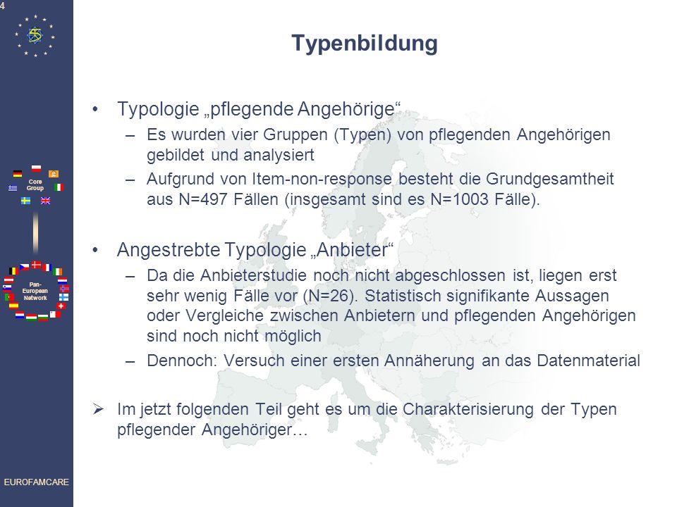"""Typenbildung Typologie """"pflegende Angehörige"""