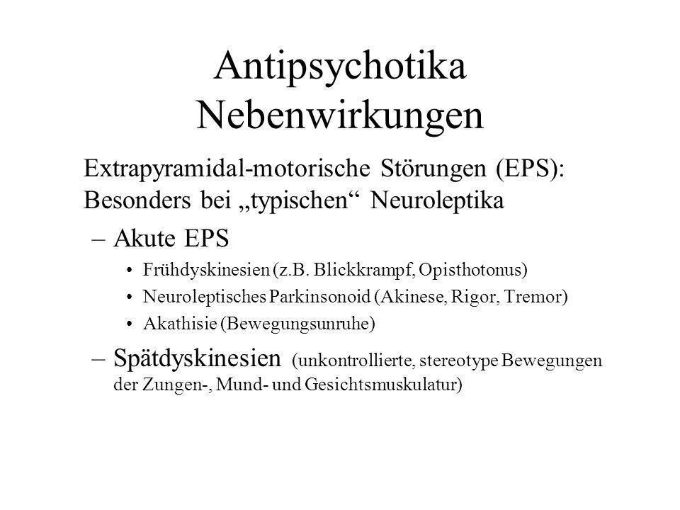 Antipsychotika Nebenwirkungen