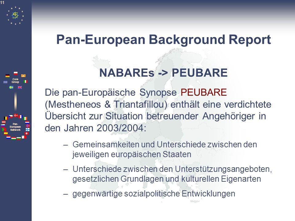 Pan-European Background Report