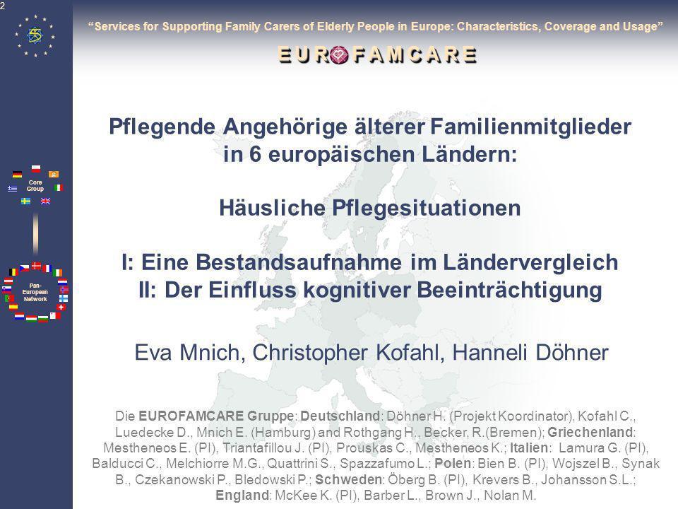 Eva Mnich, Christopher Kofahl, Hanneli Döhner