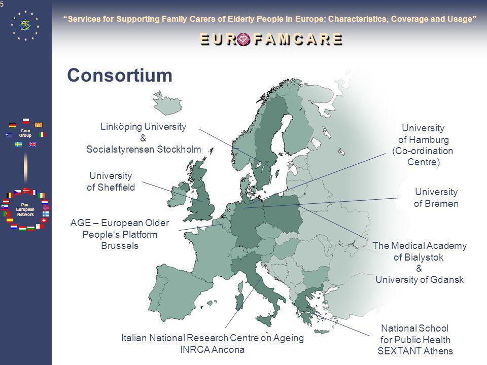 Consortium Linköping University University Socialstyrensen Stockholm