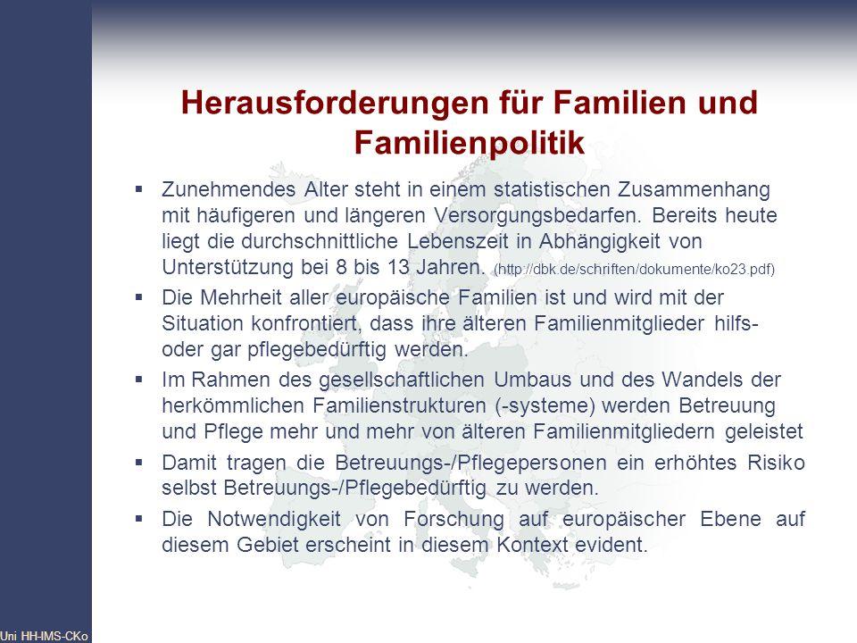 Herausforderungen für Familien und Familienpolitik