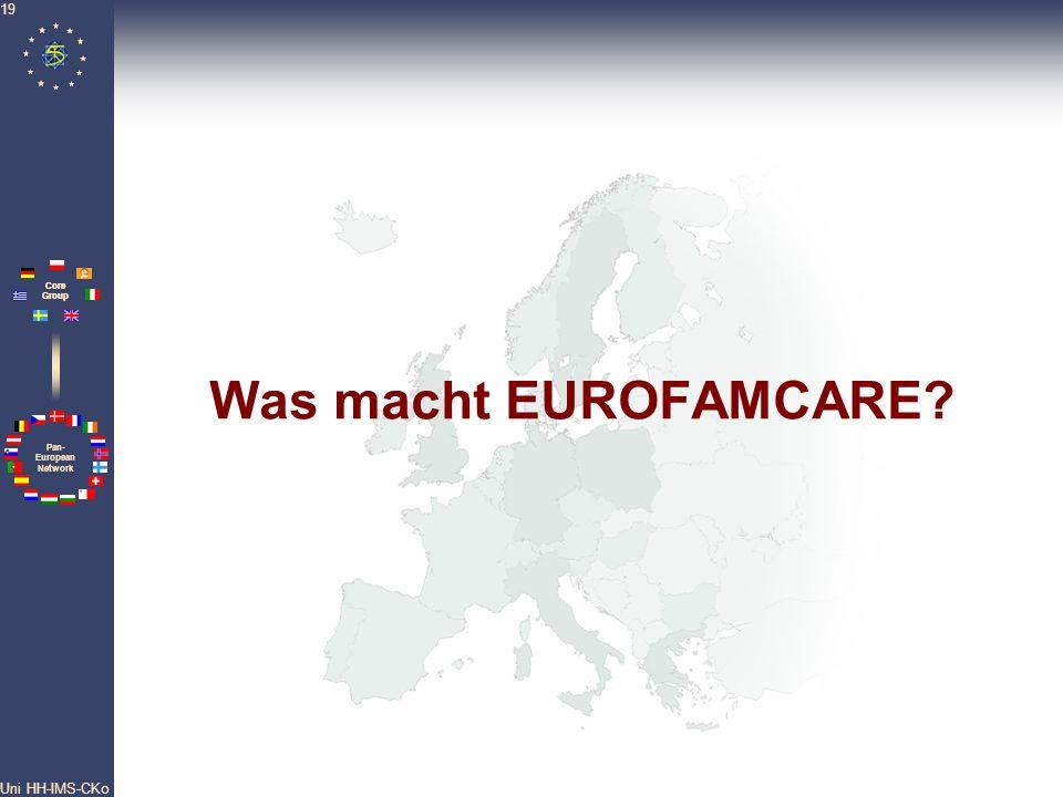 Was macht EUROFAMCARE Uni HH-IMS-CKo