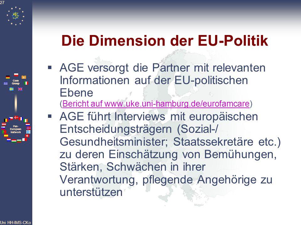 Die Dimension der EU-Politik