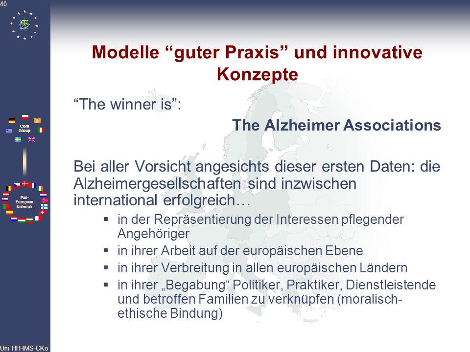 Modelle guter Praxis und innovative Konzepte