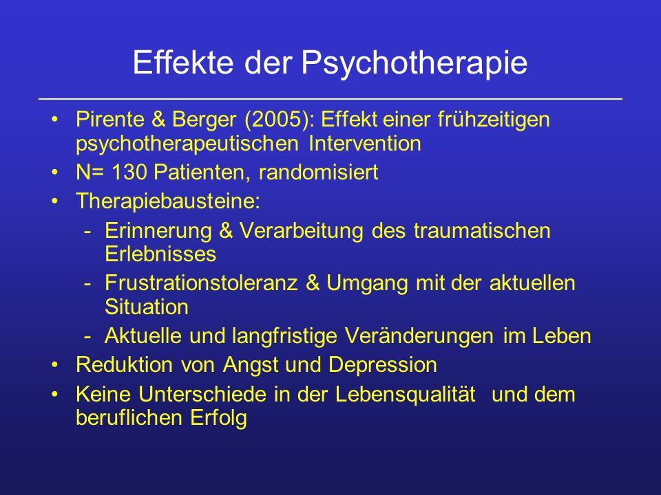 Effekte der Psychotherapie