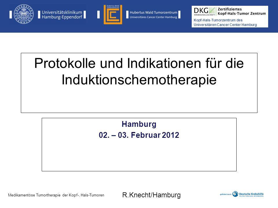 Protokolle und Indikationen für die Induktionschemotherapie