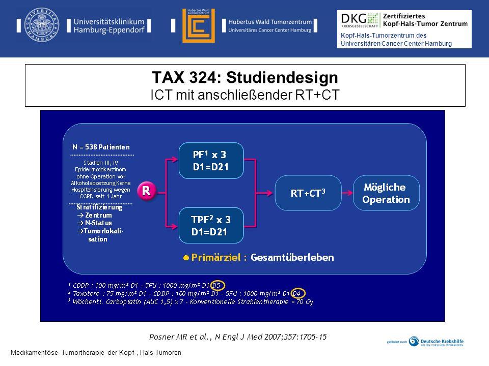 TAX 324: Studiendesign ICT mit anschließender RT+CT