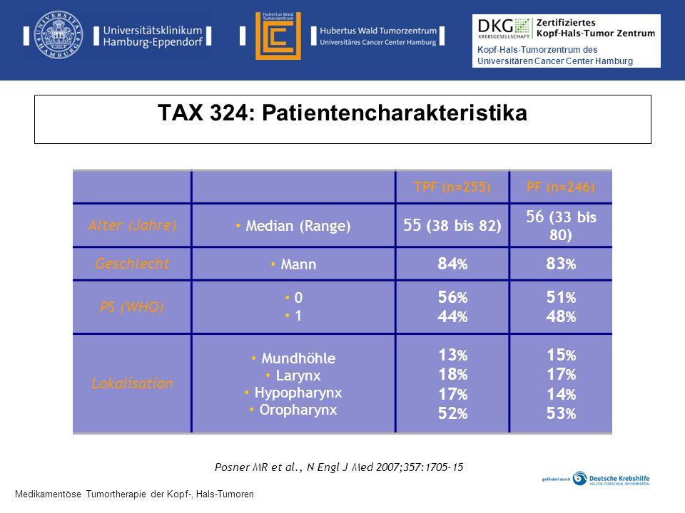 TAX 324: Patientencharakteristika