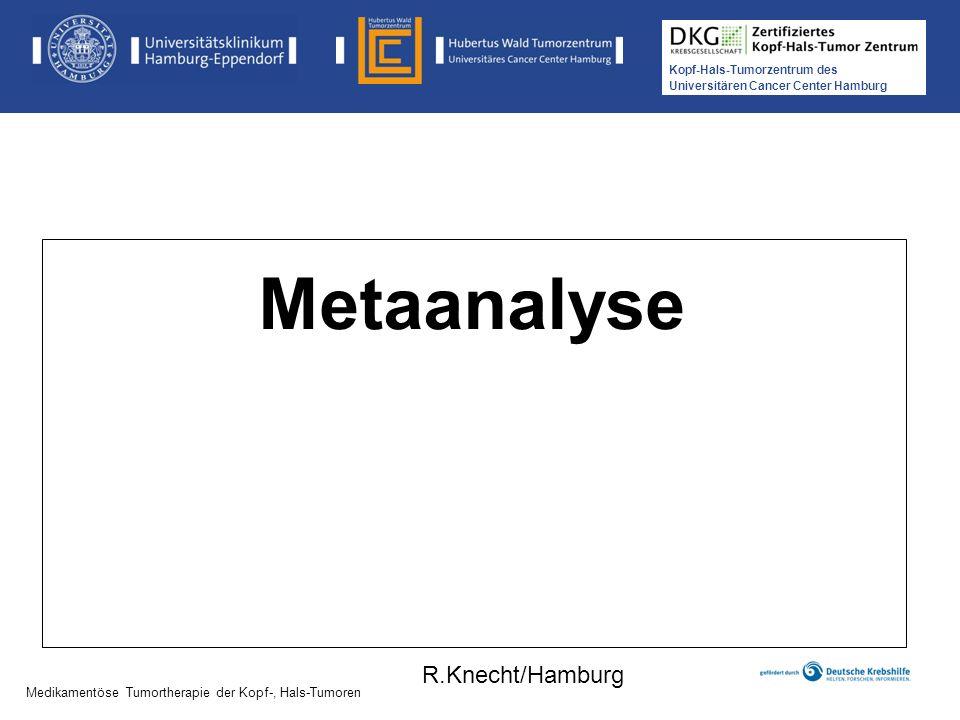 Metaanalyse R.Knecht/Hamburg