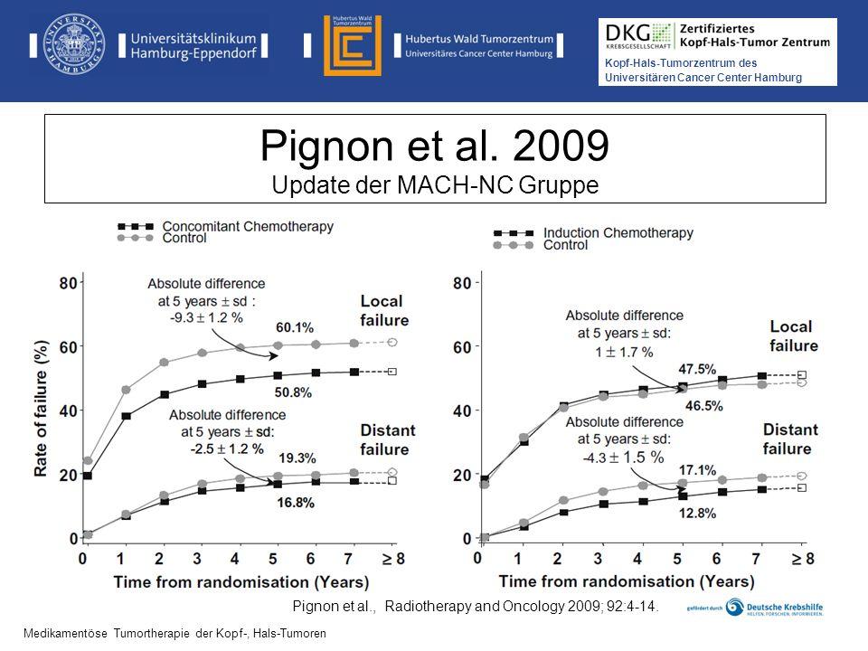 Pignon et al. 2009 Update der MACH-NC Gruppe