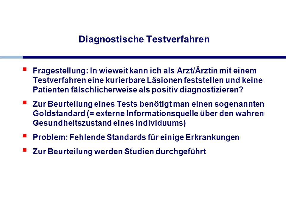 Diagnostische Testverfahren