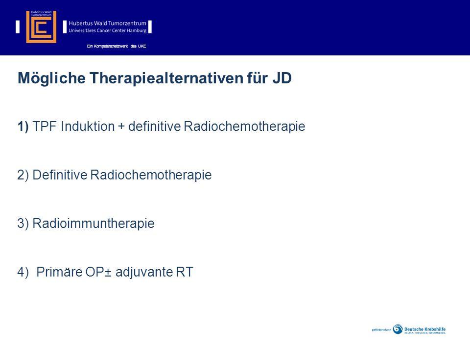 Mögliche Therapiealternativen für JD