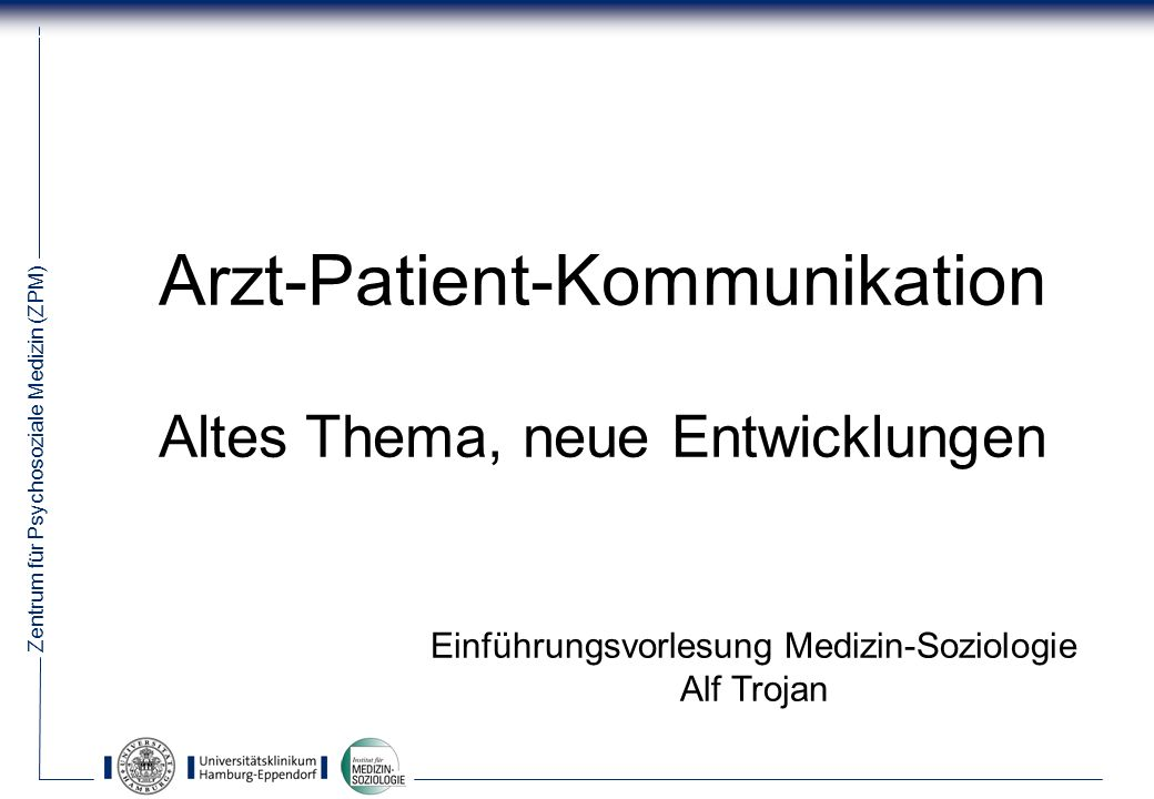 Arzt-Patient-Kommunikation