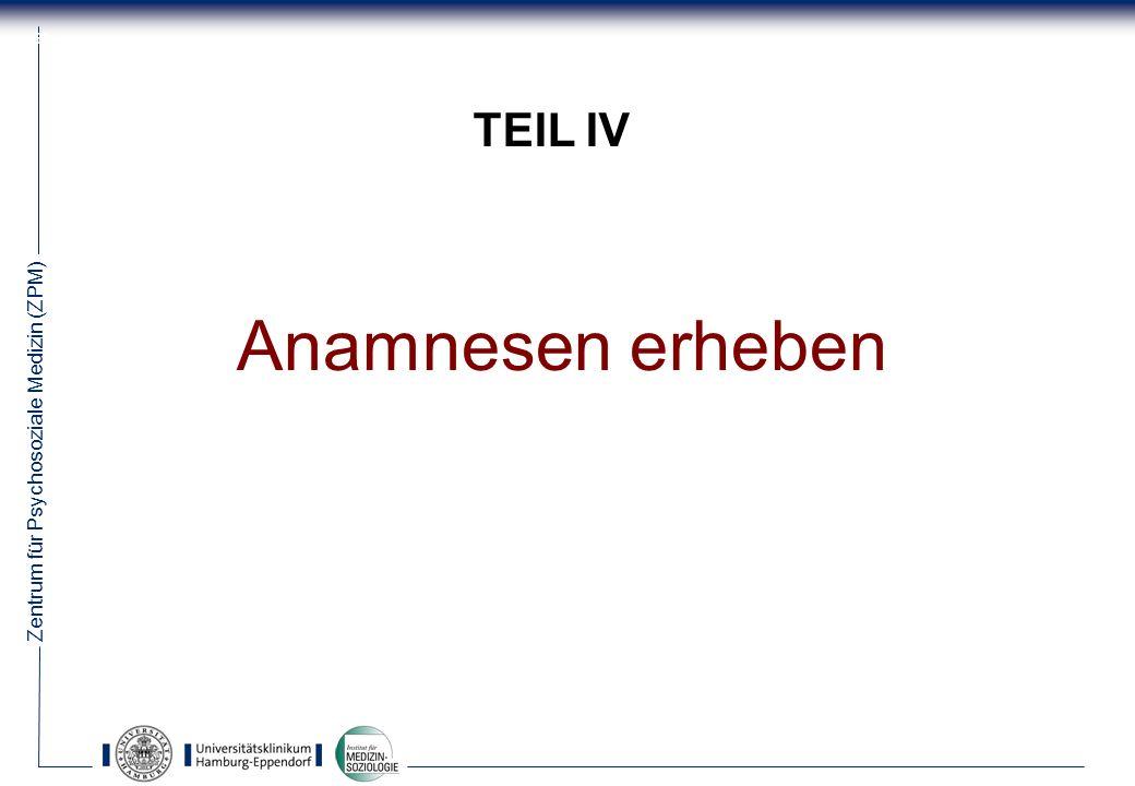 TEIL IV Anamnesen erheben