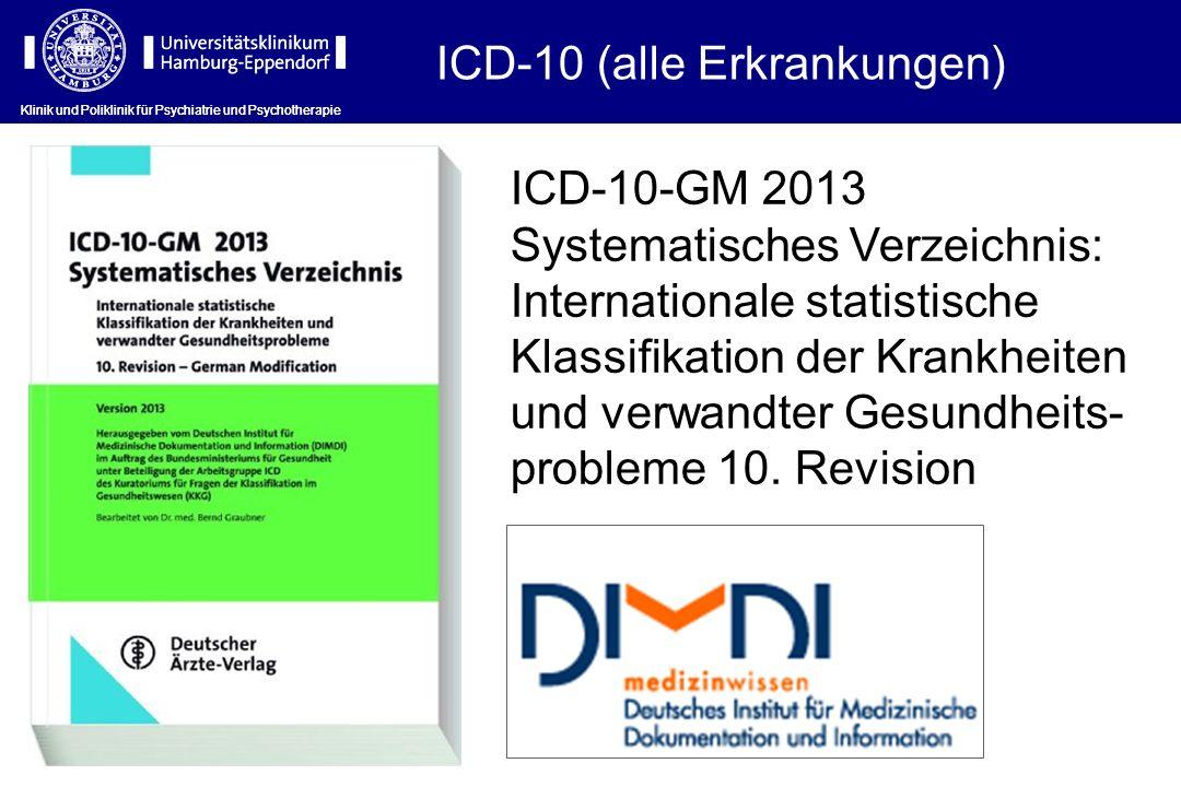 ICD-10 (alle Erkrankungen)
