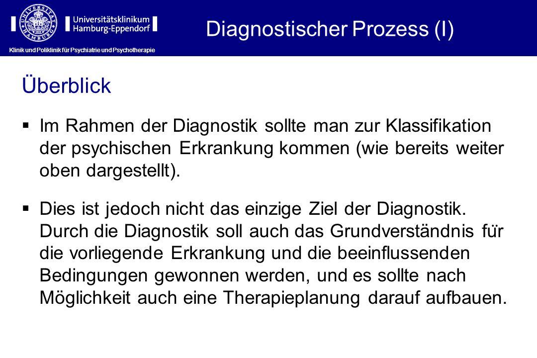 Diagnostischer Prozess (I)