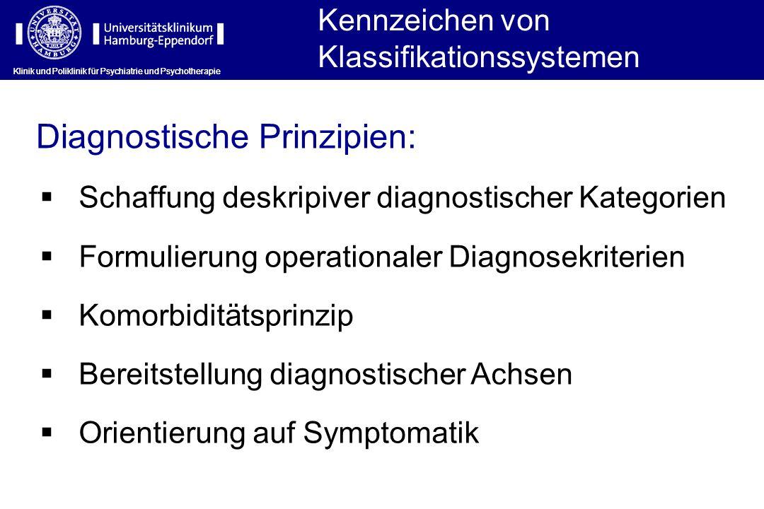 Diagnostische Prinzipien: