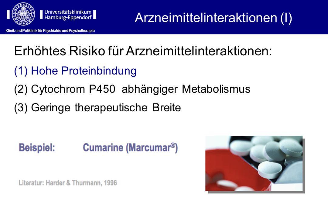 Arzneimittelinteraktionen (I)