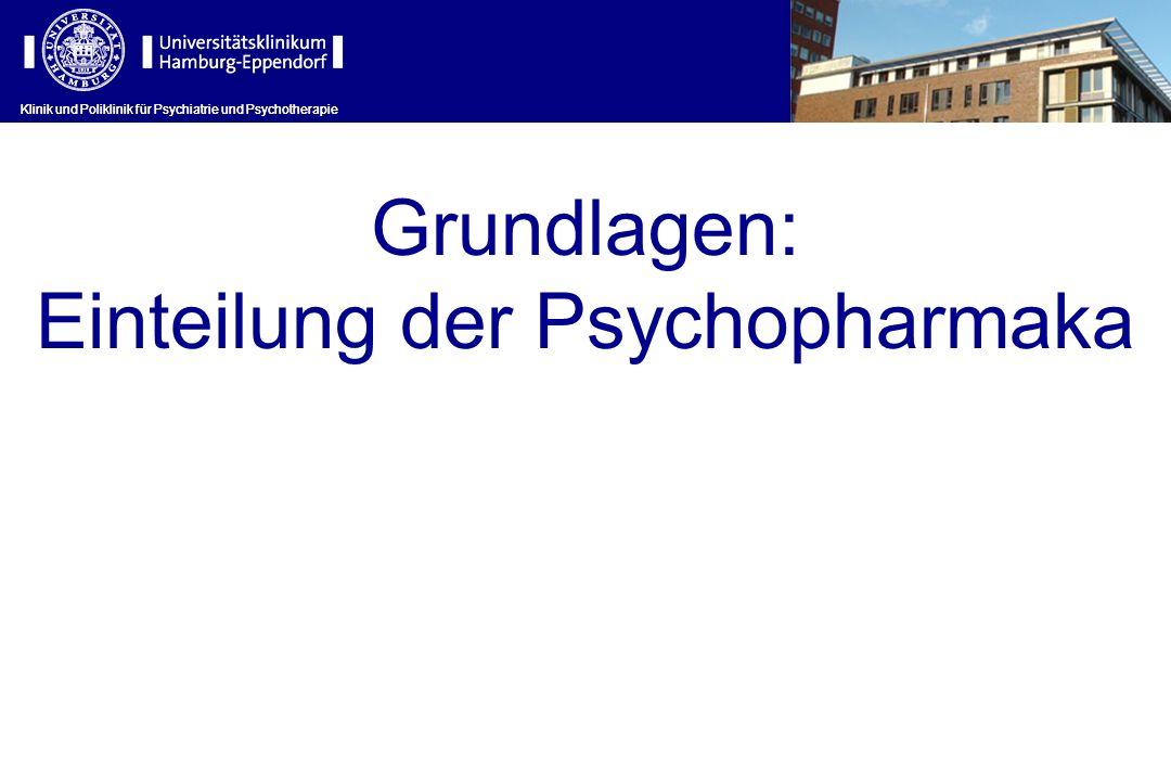 Einteilung der Psychopharmaka