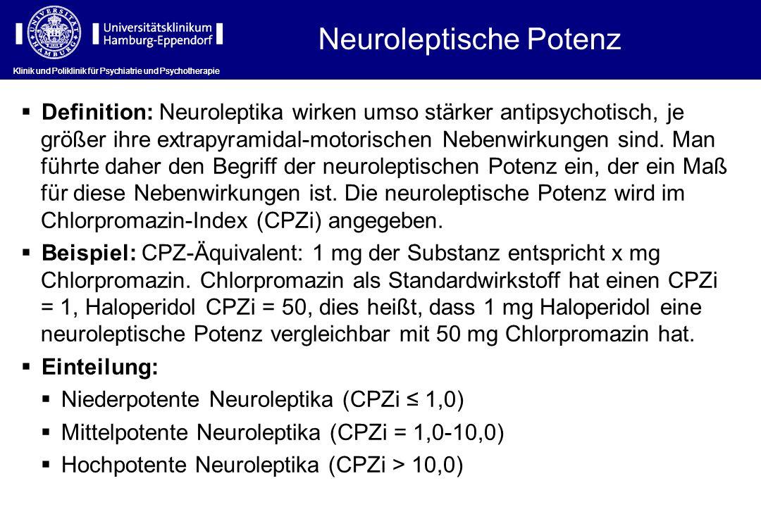 Neuroleptische Potenz