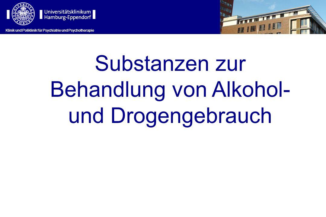 Behandlung von Alkohol-