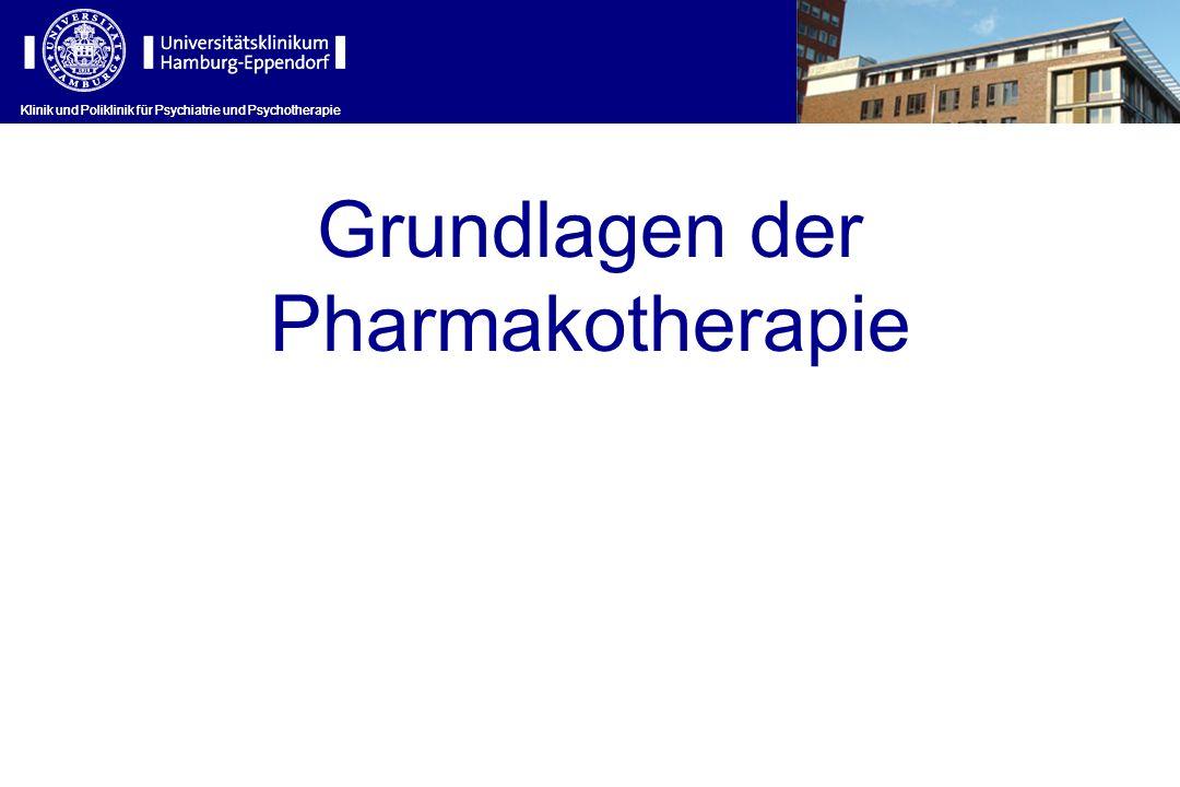 Grundlagen der Pharmakotherapie