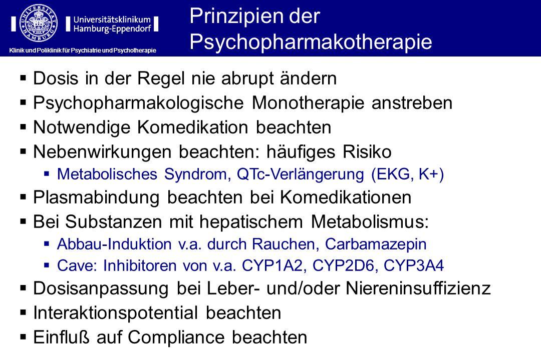 Prinzipien der Psychopharmakotherapie