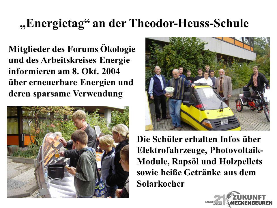 """Energietag an der Theodor-Heuss-Schule"