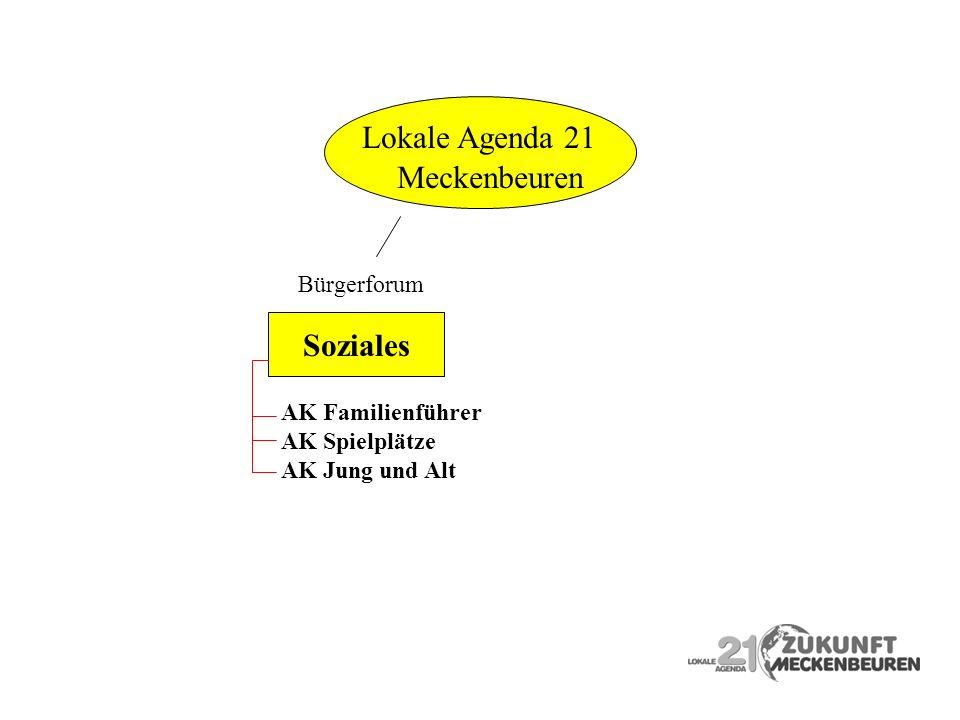 Lokale Agenda 21 Meckenbeuren Soziales Bürgerforum Soziales