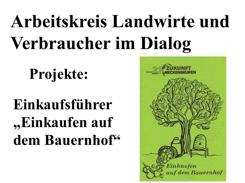 Arbeitskreis Landwirte und Verbraucher im Dialog