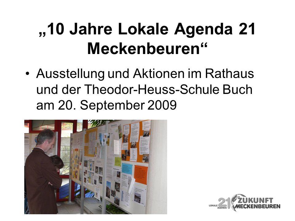 """""""10 Jahre Lokale Agenda 21 Meckenbeuren"""