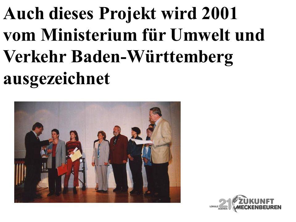 Auch dieses Projekt wird 2001
