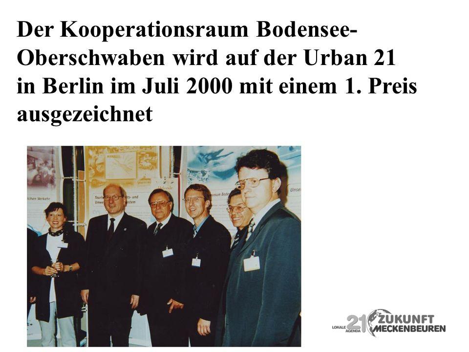 Der Kooperationsraum Bodensee-