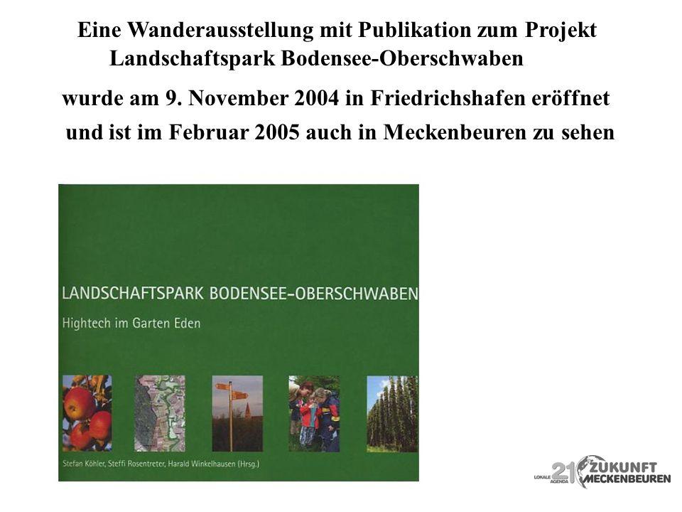 Eine Wanderausstellung mit Publikation zum Projekt