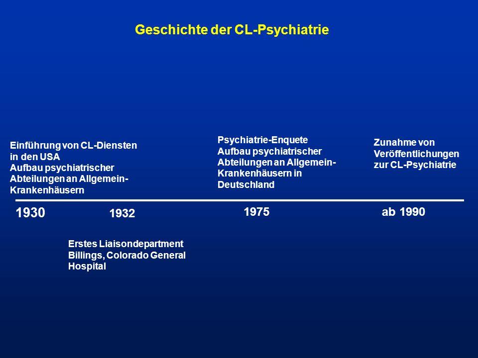 Geschichte der CL-Psychiatrie