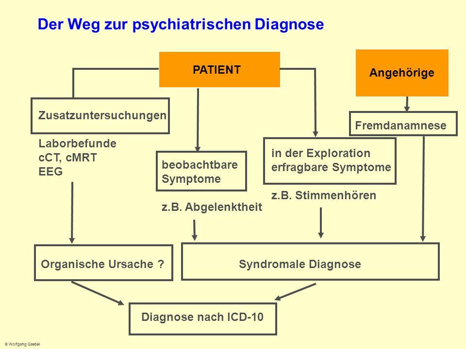 Der Weg zur psychiatrischen Diagnose