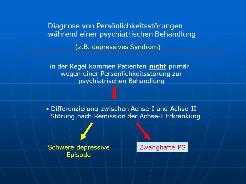 Diagnose von Persönlichkeitsstörungen