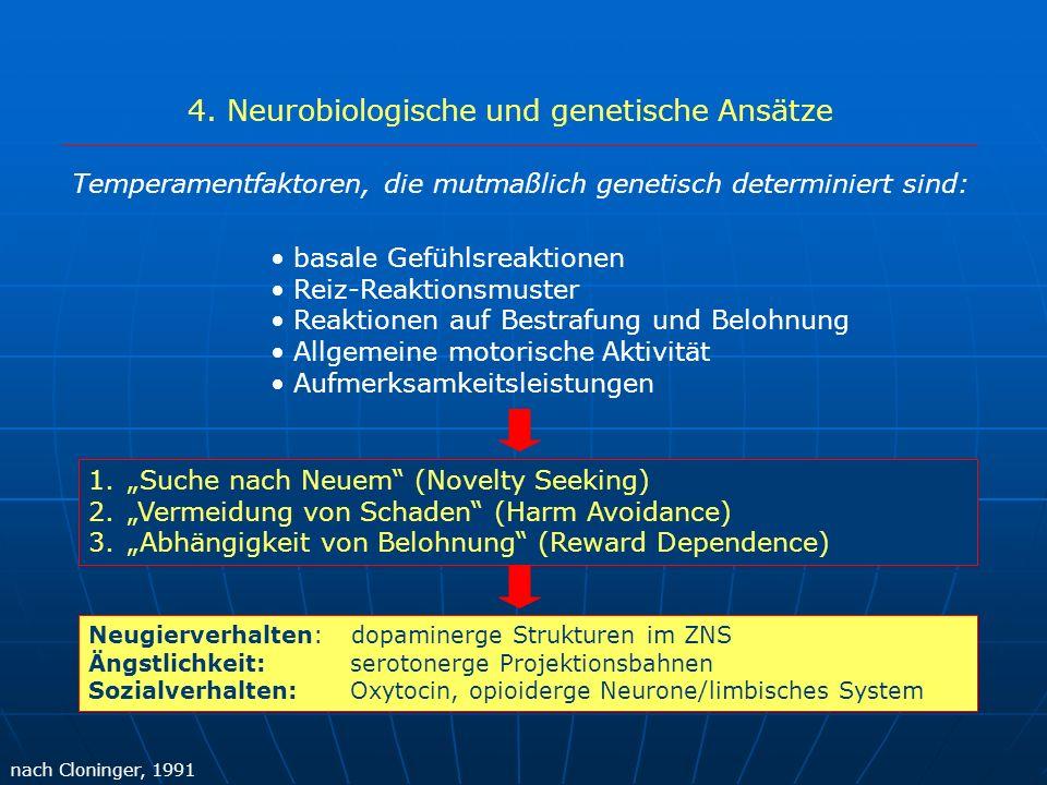 4. Neurobiologische und genetische Ansätze