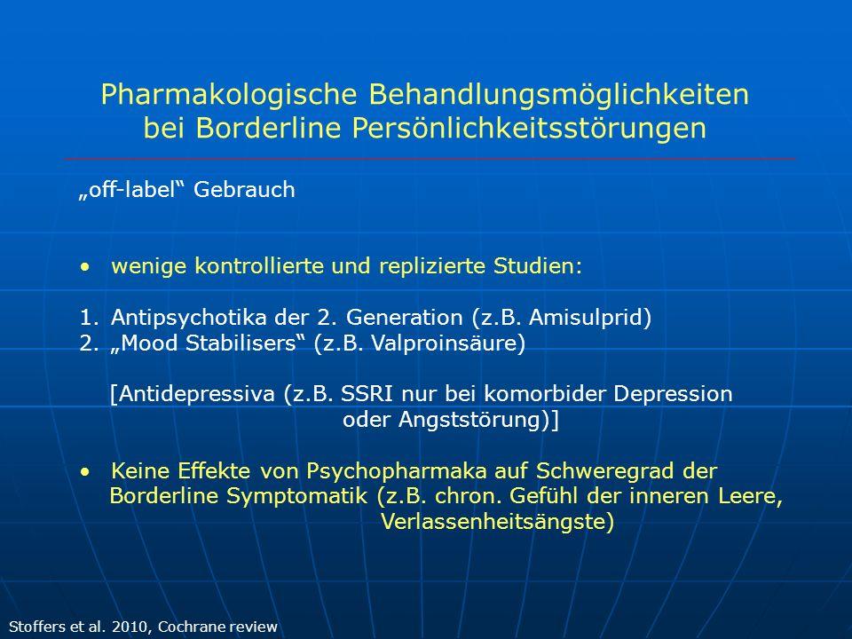 Pharmakologische Behandlungsmöglichkeiten
