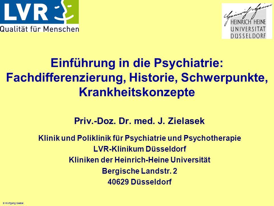 Einführung in die Psychiatrie: Fachdifferenzierung, Historie, Schwerpunkte, Krankheitskonzepte